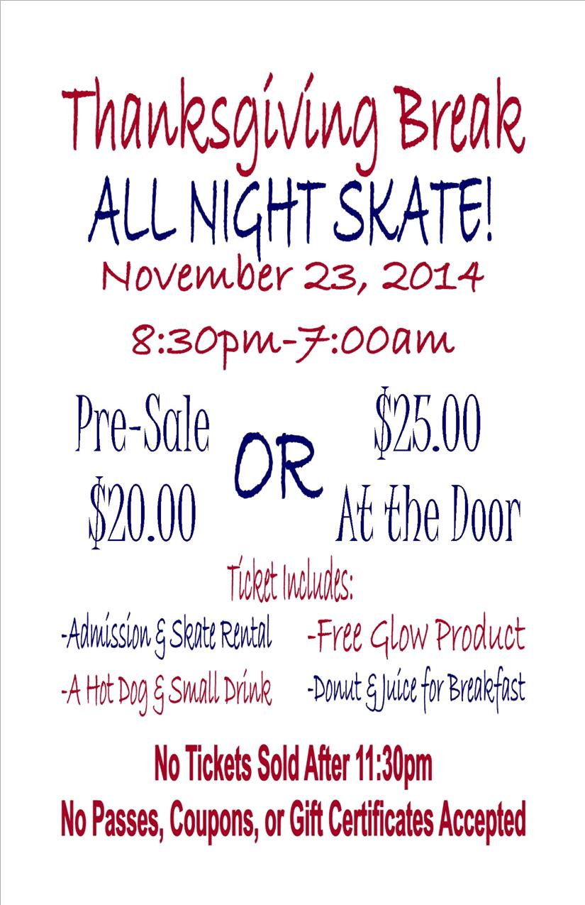 All Night Skate 2014