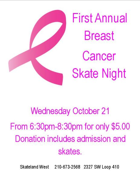 Breast Cancer Awareness Skate
