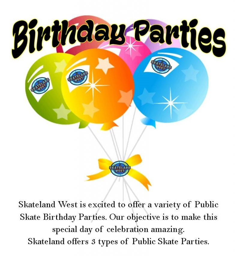 Public Birthday Party