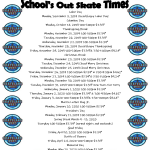 School's Out Hours - 2019-2020